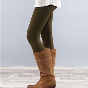 0c793b18a22 Pants - SUPER SOFT OLIVE FLEECED LEGGINGS